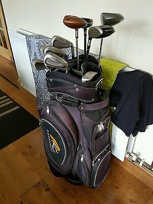 Superb Set Of Clubs, Callaway Driver, Taylormade Irons & Woods, Right Handed