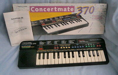 Good Tandy Concertmate -370 Key Board (Boxed)