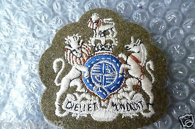 Patch- British Army Cloth Badges WO1 Cloth Badge / Patch - apx. 73x70 mm- New*