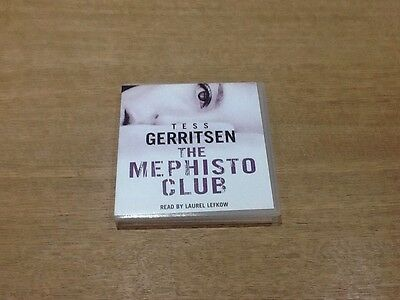 The Mephisto Club By Tess Gerritsen 3 Cd Audio Book 3 Hours - Vgc