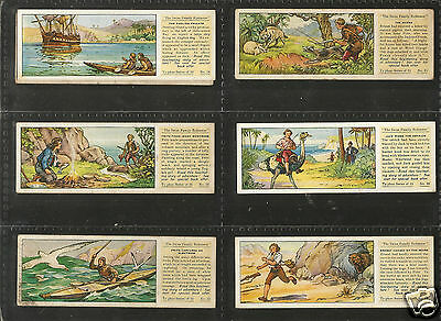 TYPHOO - the Swiss Family Robinson - 1935 - Full set in Sleeves.