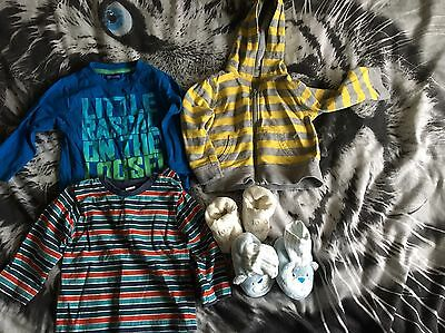 Bundle Of Baby Boys 9-12 Month Clothing
