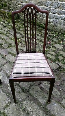 Pair of Old Vintage Wooden Chairs