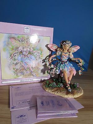 Christine Haworth Faerie Poppets 'queen Of The May' Leonardo Collection
