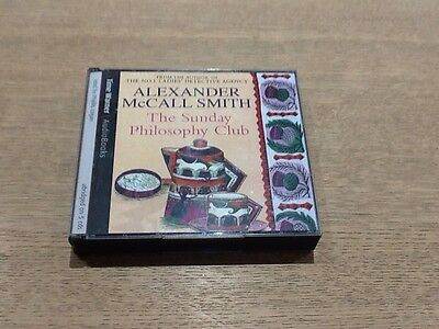 The Sunday Philosophy Club By Alexander McCall Smith 5 Cd Audio Book 6 Hours Vgc