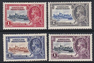 SOMALILAND Protectorate 1935 Silver Jubilee complete mint set sg86-89