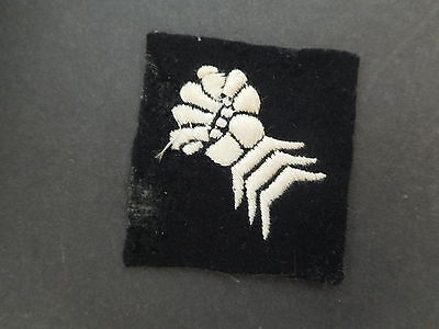 Military Shoulder Title Patch