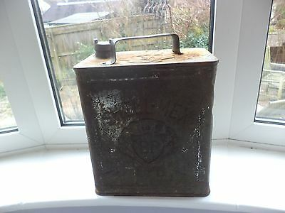 Vintage Shell-Mex BP Ltd Petrol Fuel Can With Brass BP Top
