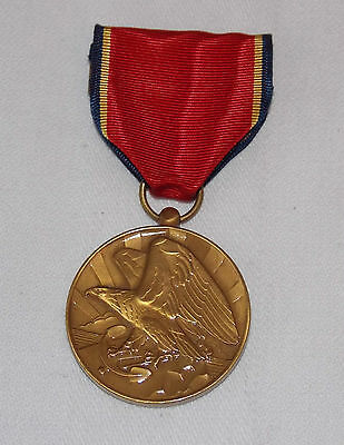 U.S. Naval Reserve Faithful Service Medal with Ribbon Awarded 1938-1958