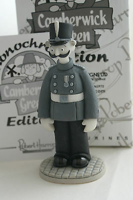 Captain Snort Soldier Figurine Monochrome Cgmc08  Trumpton  Robert Harrop