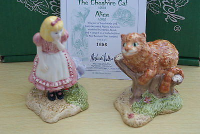 Alice & Cheshire Cat  From Alice In Wonderland  Beswick Ware  Limited Edition