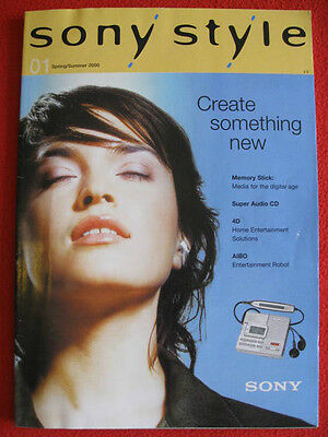 Sony Style Brochure Spring/Summer 2000 - (250 pages)