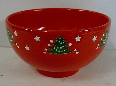 """Waechtersbach CHRISTMAS TREE Large Cereal Bowl BEST Multiple Avail (6""""x3-3/8"""")"""