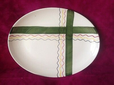 Art Deco 1930's Wade Royal Victoria Oval Plate 11x8.5""