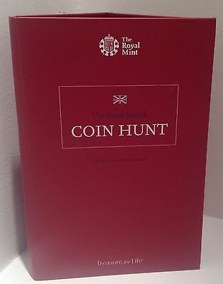 Sold Out 2015 Brand New  Royal Mint UK 50p Coin Hunt Album Fifty Pence