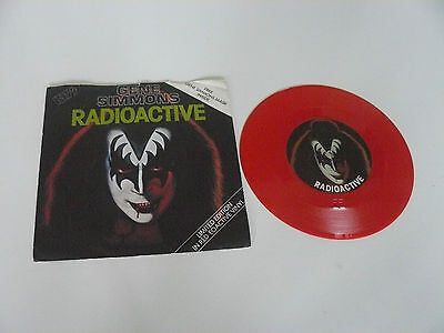 Limited Edition Red Vinyl  Gene Simmons  No Mask