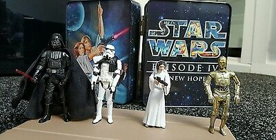 STAR WARS episode IV a new hope firgure tin