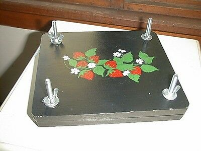Flower Press Hand Painted Decoration