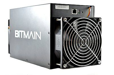 4x Bitcoin Miner Antminer S3 Bitmain 4x 453GH/s Total 1.8TH/s BTC