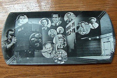 Old HASKO Promotional Tray For WBNS-TV Columbus Ohio 1950's