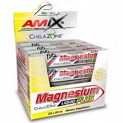 Amix Performance Magnesium Liquid Plus 20 unid. x 25 ml