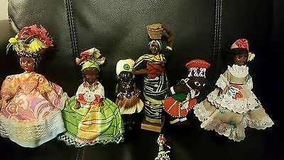 African American Guadeloupe Curacao Dolls