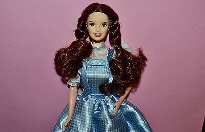 Collectible Barbie - Wizard of Oz Dorothy in Original Blue & White Dress, Mattel