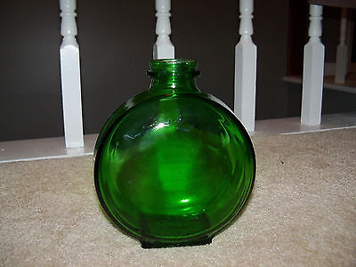 Vintage Green Glass Bottle Sunsweet PAT. APPLD. For Marked