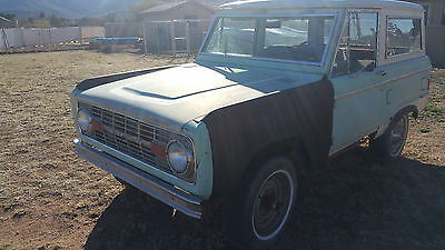 1977 Ford Bronco Ranger Package 1977 Ford Bronco Resto Project