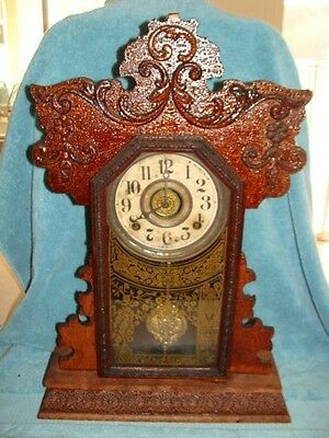 Ingraham Bedroom or Kitchen Clock with Alarm for Parts or Repair