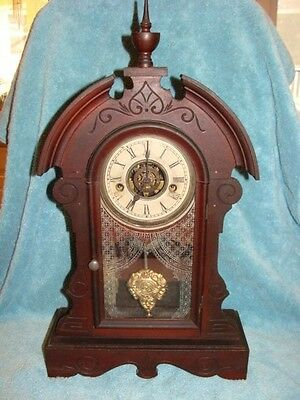 Waterbury Bedroom or Kitchen Clock with Alarm for Parts or Repair