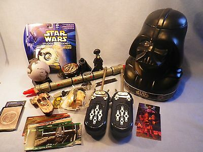 Star Wars Collectibles Lot Nice Collection LOOK!!