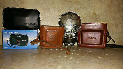 VINTAGE CAMERA SET of 4 (UNTESTED)