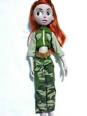 "Disney 10"" Kim Possible Tv Show Action Figure Doll"