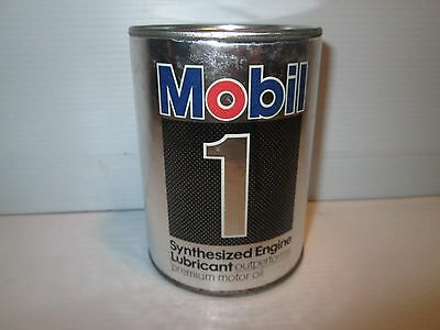 Mobil 1 Oil Can Bank