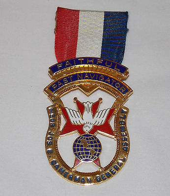 1 Knights of Columbus Past Navigator Jewel Medal for Named 4th Degree Officer