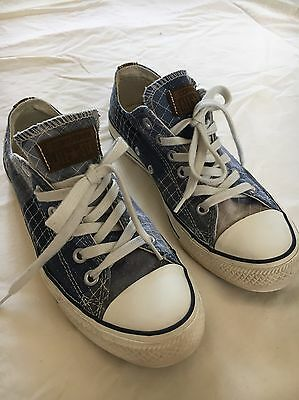 Converse shoes US7 EUR37.5