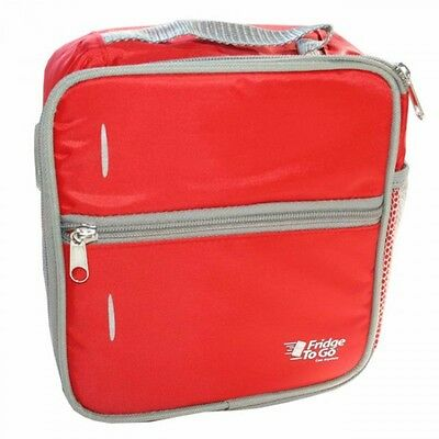 New Fridge - to - Go Small Lunch Box - Red Free Express Shipping
