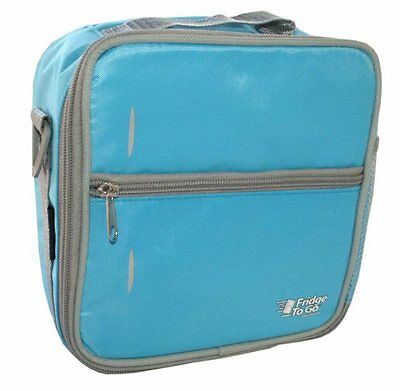 New Fridge - to - Go Small Lunch Box - Blue Free Express Shipping
