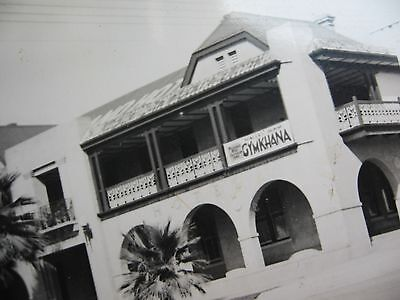 UNKNOWN HOTEL with Gymkhana SIGN