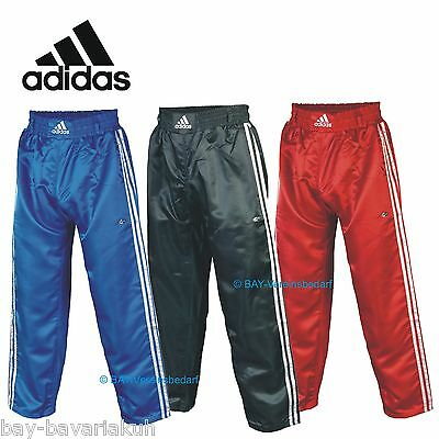 ADIDAS Kickboxhose Kickboxing Trousers Thai boxing shorts black blue red