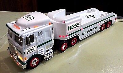 """1999 Hess Truck with lights 14"""" long"""