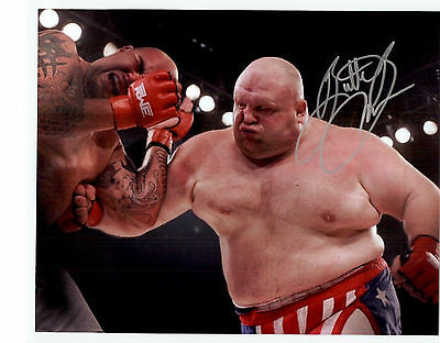 Butterbean Autographed Boxing 8x10 Photo signed Butter Bean Auto