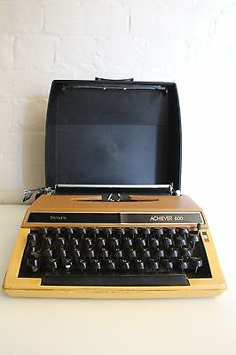 SEARS ARCHIVE ~ Retro Typewriter ~ Working ~ Comes with case