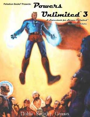 Palladium Heroes Unlimited Powers Unlimited 3 SC MINT