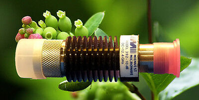 """Midwest Microwave (RF1922) Coaxial RF Attenuator """"N"""" • Model: 392 • DC - 12.4GHz"""
