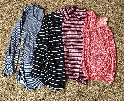 Maternity Lot Of Tops Shirts Liz Lange Old Navy Large L EUC