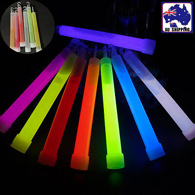 5pcs Glow Stick Light Sticks Hook Color Random Party Camping Concert GHGL50266x5