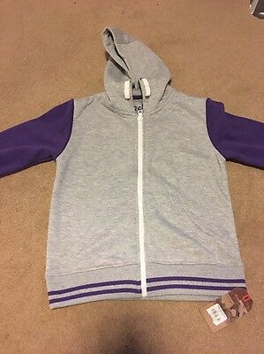 Boys Hooded Top  7-8 Years