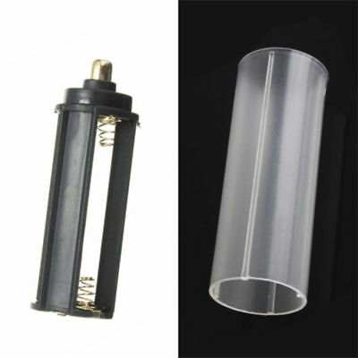 1pcs 18650 Battery Tube + 1pcs AAA Battery Holder For Flashlight Torch Lamp New